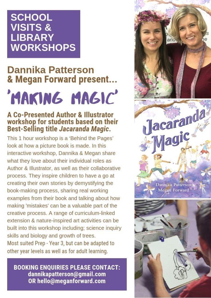 JM School & Library Workshops_Dannika and Megan
